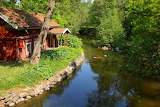 Cottage by the creek - Photo from Piqsels id-zahnw