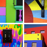 ☺ Collage- Colorful walls...
