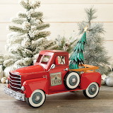 ^ Christmas tree in truck