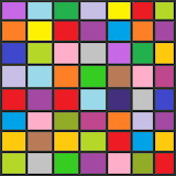 Just coloured squares