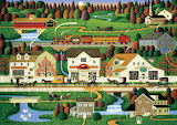 Yankee Wink Hollow by Charles Wysocki