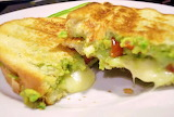 #Guacamole Grilled Cheese Sandwich