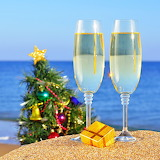 *Christmas on the Beach...