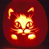 #Cute Kitty Jackolantern