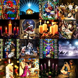 #Christmas Nativity Collage