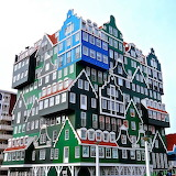 Stacked Houses - Amsterdam