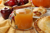 Apple cider and apple pie
