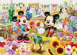 Mickey and Minnie's Flower Shop