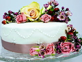 Rotate the cake flowers @ Bellecious