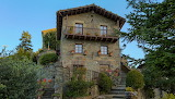 Spain Houses Design Stairs Shrubs Rupit i Pruit Catalonia Cities
