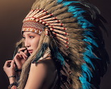 Girl in indian 02