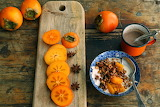 Persimmon cereal