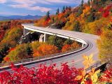 Fall colors along the highway