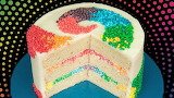Sliced rainbow @ Cookies Cupcakes and Cardio