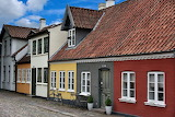 ^ Colorful Houses on Bangs Boder in Odense, Denmark