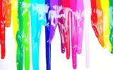 Colorful Melted Crayon