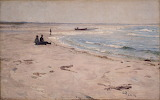 From the Beach at Sele. Eilif Peterssen 1889