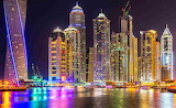 Dubai at Night CC0