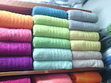 Colorful pattern fabric textile towels