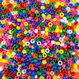 ^ Colorful pony beads