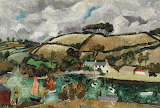 Pill Creek, Feock Cornwall. Christopher Wood 1928