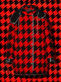 ^ Red and black coat
