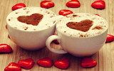 #Cappuccino Hearts and Chocolate