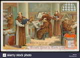 Monks-copying-manuscript-A30TJD