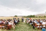 Open Range Wedding In Wyoming