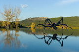 Louise Bourgeois, Crouching Spider, 2003, Château La Coste