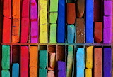 ☺♥ Coloured bricks...