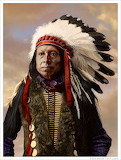 Sioux brave by wendelin