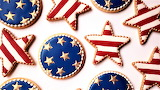 #Fourth of July Cookies