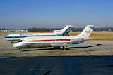 Eastern and TWA jets at Columbus, Ohio early 1970's