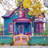 colored house 119