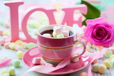 ☺♥ Love, chocolate and a rose...♥