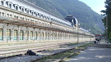 Canfranc Train Station Empty Alone