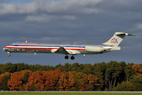 American Airlines McDonnell Douglas MD-83