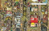 Fantastic Townscape By Colin Thompson