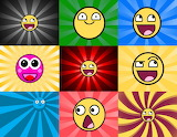 Collage- Smileys