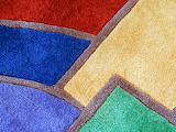 Rug colorful abstract