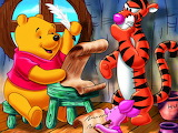 Pooh and tiger