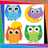 ☺ Colorful owls...