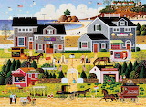 Black Cherry Harbor by Charles Wysocki
