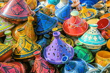 Morocco-Colorful Pottery