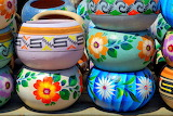 Colourful Clay Pots...