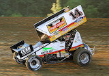 Tony Stewart Sprint Car