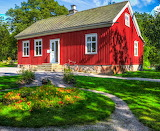☺♥ Pretty house in Sweden...