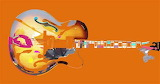 Abstract, Guitar