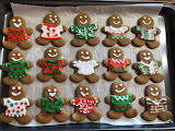 Gingerbread in Ugly Christmas Sweaters
